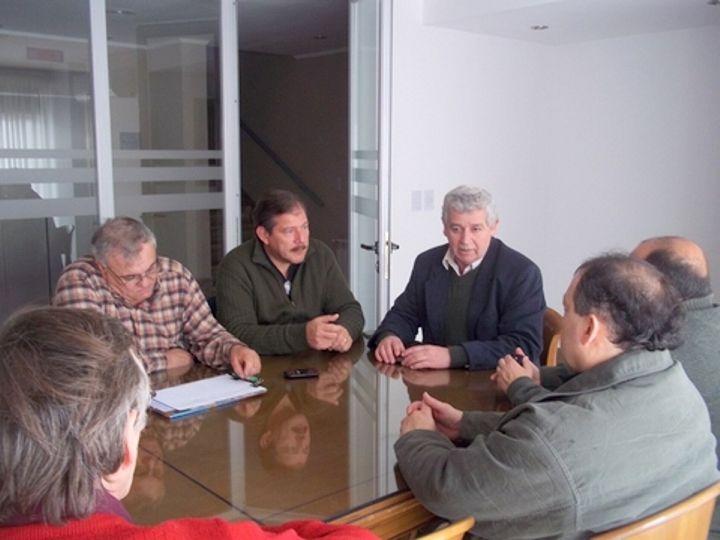 Reunión con clubes de Viale, Bovril, Alcaraz, Piedras Blancas, Cerrito, María Grande, y Hasenkamp